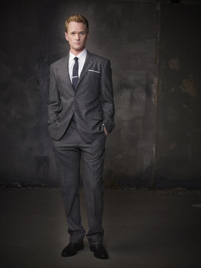 Coutume-élégante-tenue-professionnelle-idées-tenue-barney-stinson
