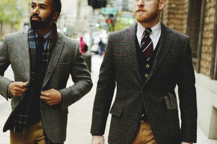 Coutume-élégante-tenue-professionnelle-idées-tenue-hommes-élégantes