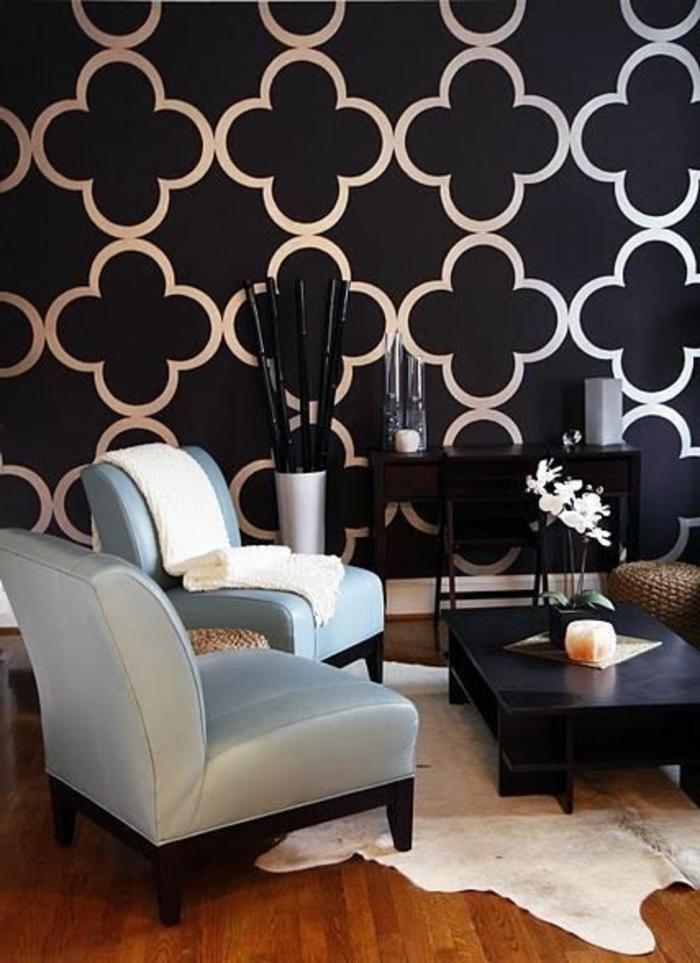 Idée-déco-mural-papiers-peints-design-belle-mur-belle
