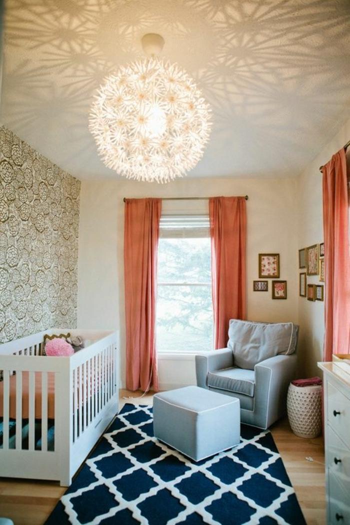 Idée-déco-mural-papiers-peints-design-belle-mur-chambre-bébé