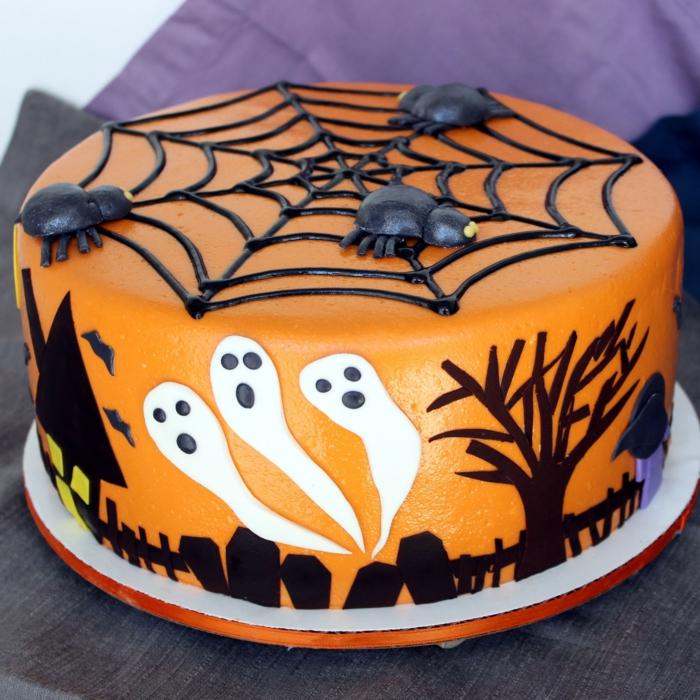 idee deco gateau halloween