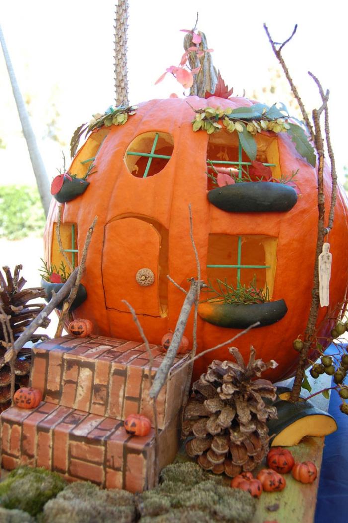 La citrouille halloween faire la meilleure d coration - Idee deco citrouille halloween ...