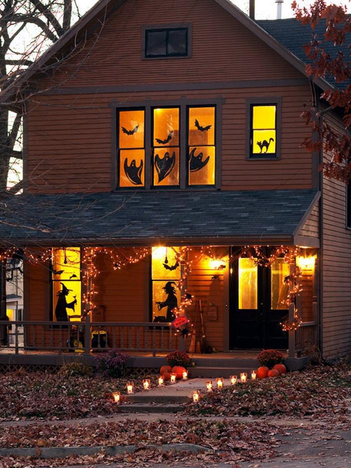 Idées-déco-citrouille-halloween-décoration-la-maison-de-horreur