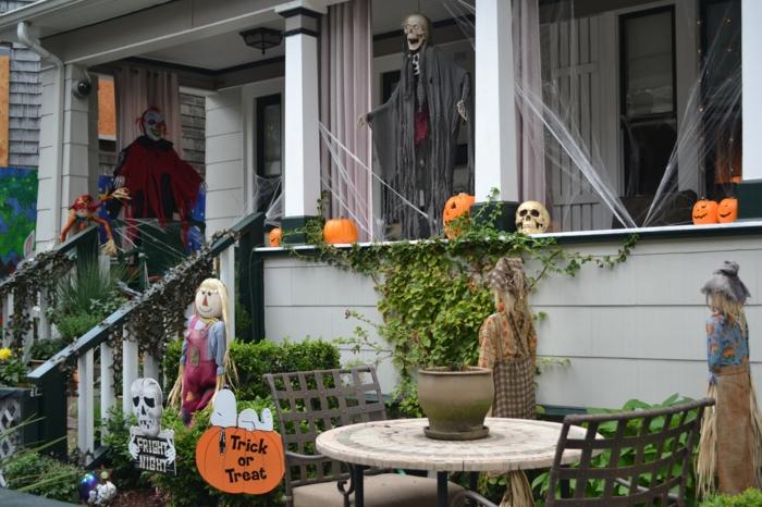 Idées-déco-citrouille-halloween-décoration-véranda-bien-décorée