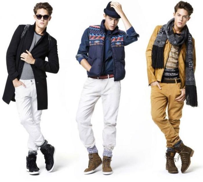 Jeans-et-veste-en-cuir-mode-automne-hiver-2015-inspiration-idées
