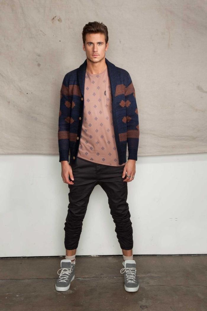 Jeans-et-veste-en-cuir-mode-automne-hiver-2015-inspiration-une-idée-casuel