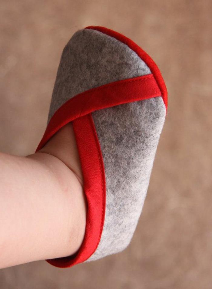 Jolies-pantoufles-enfant-chaussures-maison-pantoufle-enfant-mignon-elegante