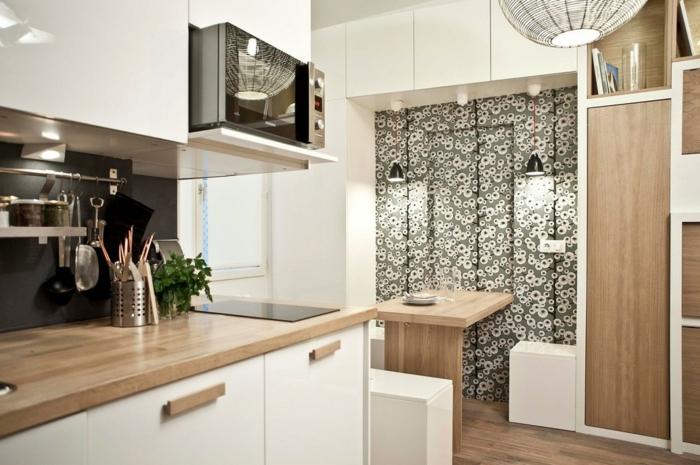 La-table-pliante-cuisine-table-pliante-pour-cuisine-bois-et-blanc