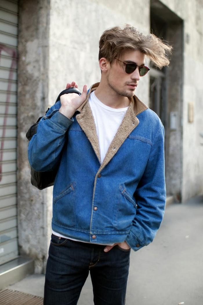 Style-casuel-homme-élégant-style-vestimentaire-homme-beau-veste-denim