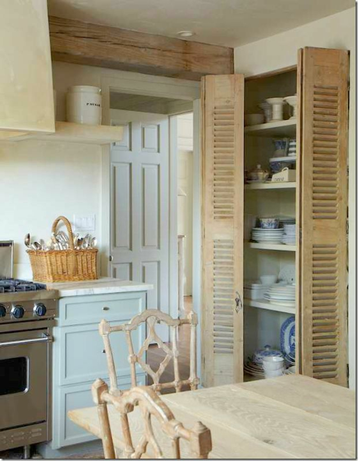 Une-table-de-cuisine-pliante-table-salle-a-manger-rétro-rustique