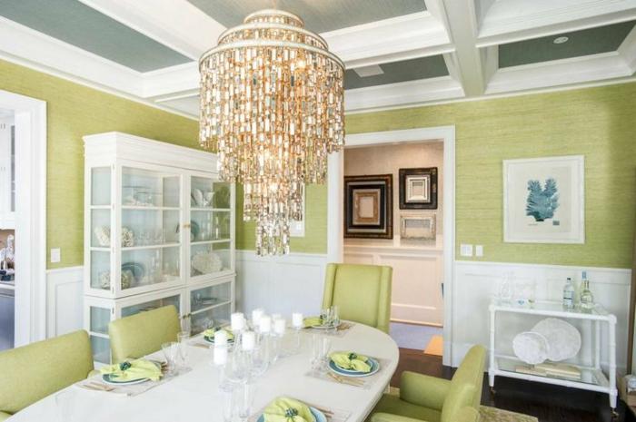 accorder-les-couleurs-dans-la-salle-à-manger-complete-pas-cher-pour-la-salle-a-manger-verte