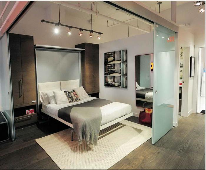 aménagement-chambre-à-coucher-lit-abatable-lit-relevable-transformable