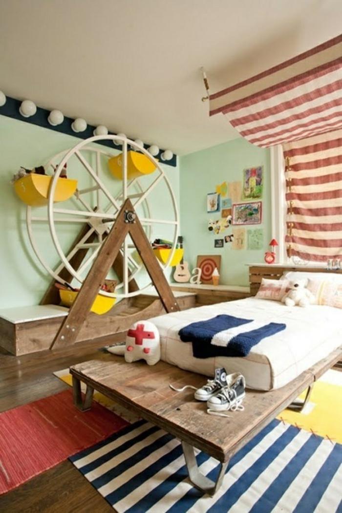 aménagement-chambre-enfant-rangement-jouet-carouselle