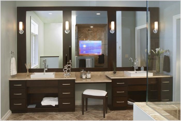 aménagement-salle-de-bain-idée-originale-lavabo-double-deux-lavabos