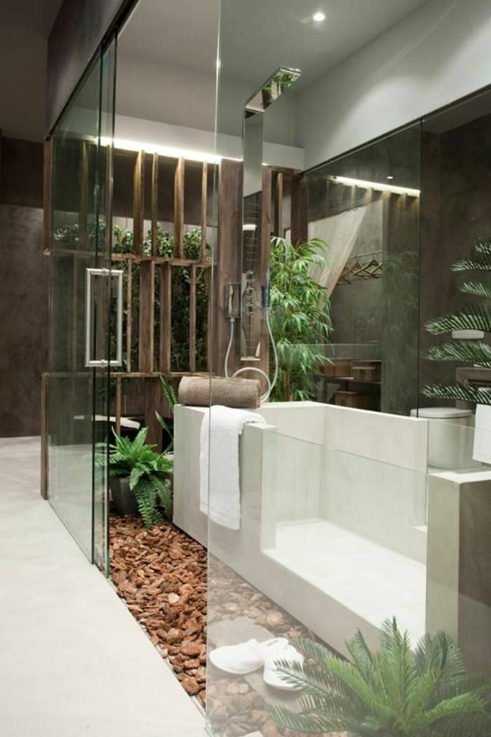 Comment am nager une petite salle de bain - Amenagement salle de bain douche et baignoire ...