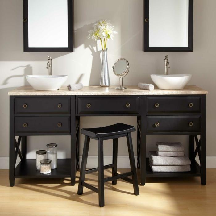 Une salle de bain orthographe total look blanc dans cette for Orthographe salle de bain