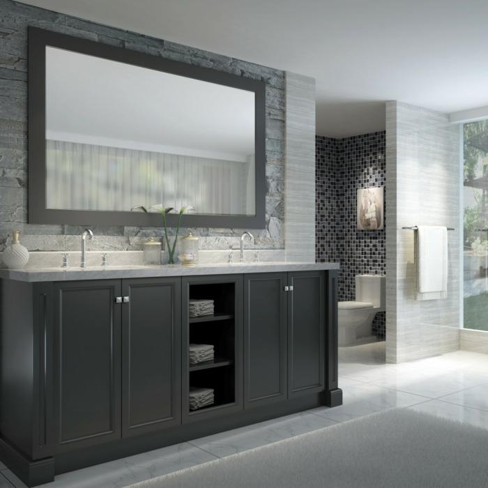 aménager-une-salle-de-bain-meuble-sous-lavabo-en-gris-fleurs