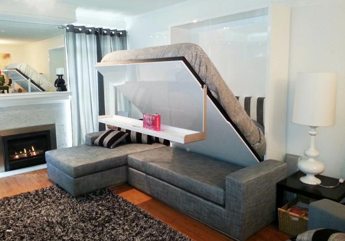 Le lit abattant belles solutions pour sauver d 39 espace for Lits escamotables ikea