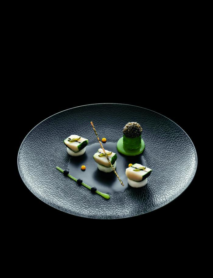 assiette-gastronomique-à-la-mode-japonaise