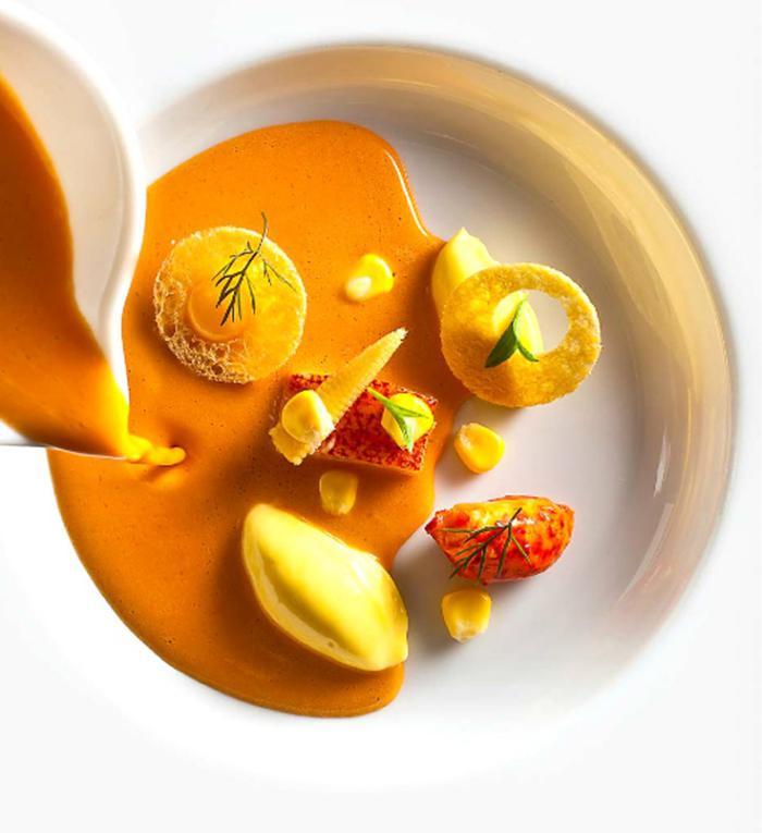 assiette-gastronomique-repas-gourmands-sur-assiette-gastronomique