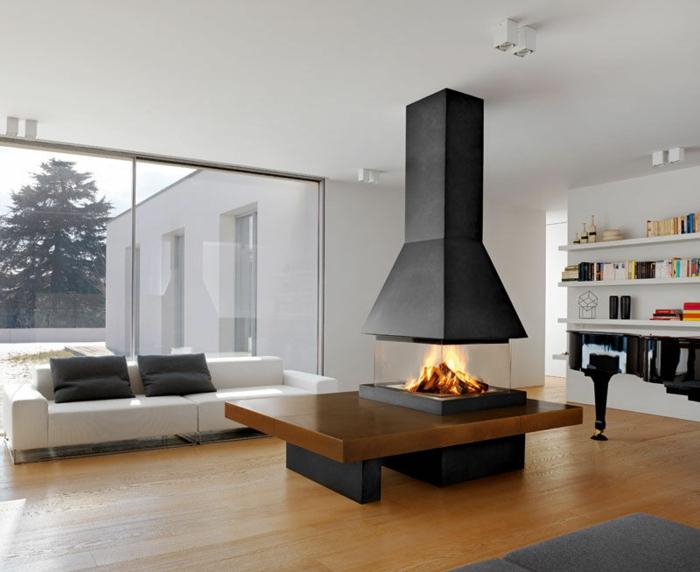avantages-de-la-cheminée-centrale-à-foyer-fermé-centre-de-la-salle-de-séjour