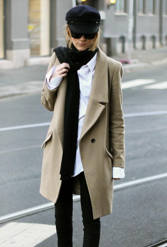 béret-femme-noir-béret-asquette-en-foutre-noir-comment-porter-le-béret-noir-avec-lunettes-noires