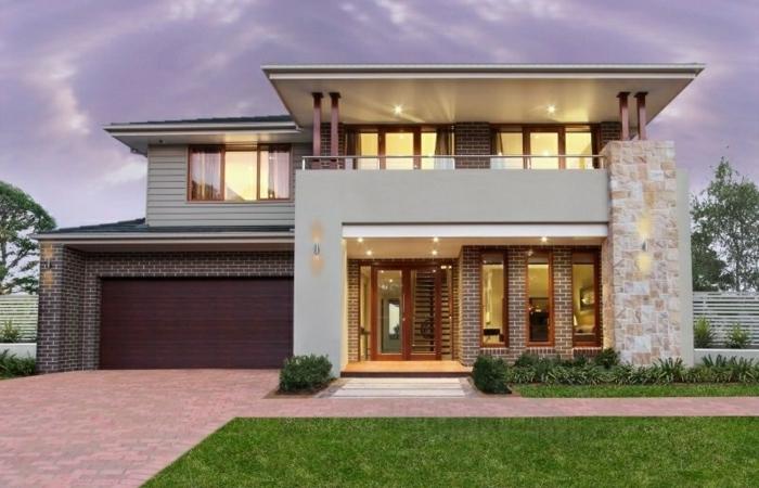 baie-vitrée-coulissante-idée-décoration-avec-grande-fenêtre-maison-plaine-pied-moderne-architecture
