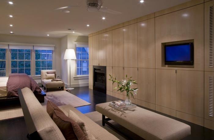 baie-vitrée-fixe-ou-porte-fenetre-maison-contemporaine-baie-vitrée-coulissante-idée-décoration-avec-grand-salon