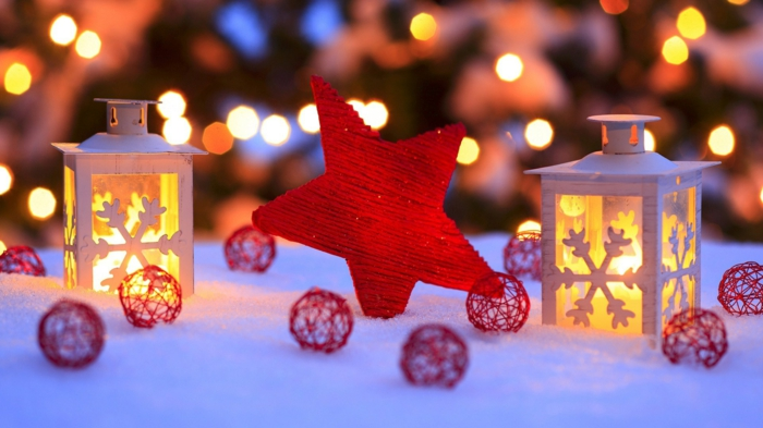 belle-bougie-de-noël-couronne-de-noel-inspiration-neige-en-hiver