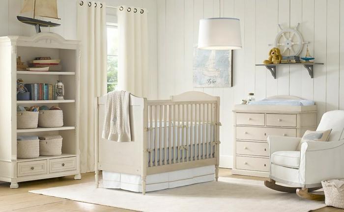 belle-idée-déco-chambre-bébé-tableau-meuble-lit-oreiller-tout-princesse
