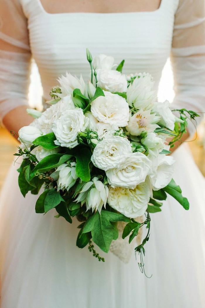 Pourquoi opter pour un bouquet de mari e rond - Bouquet de mariee original ...