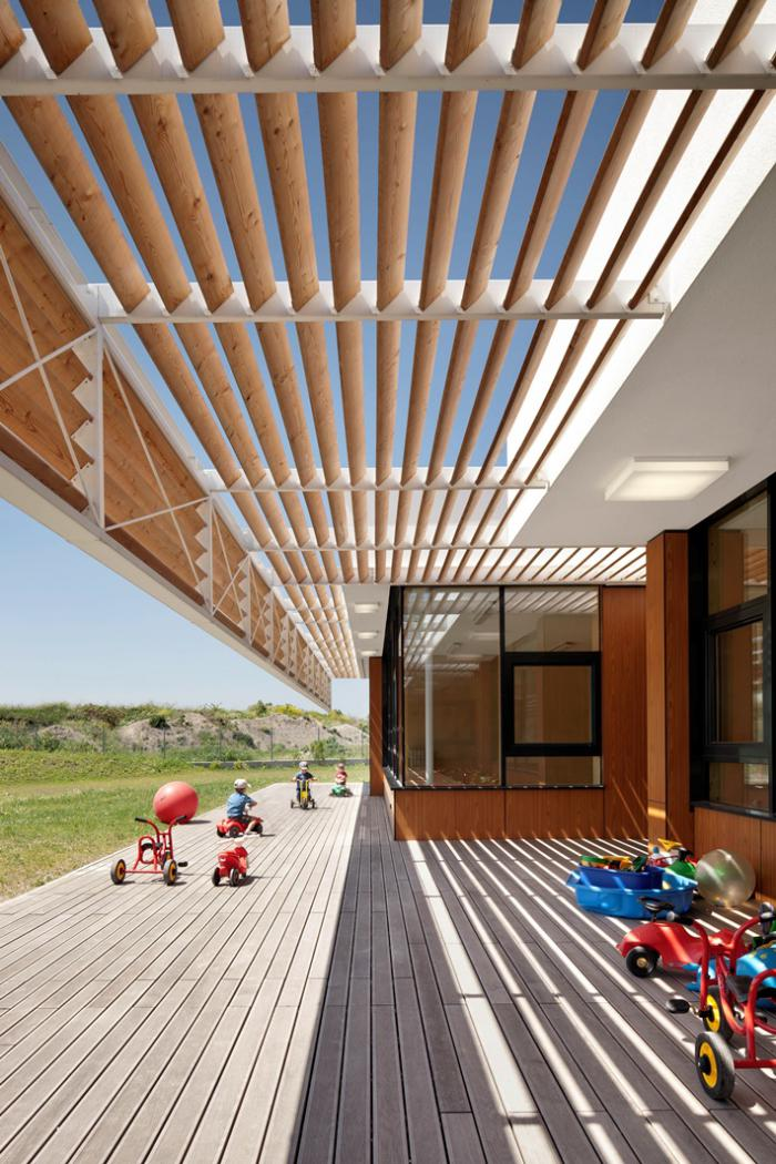 Les syst mes brise soleil en 49 photos for Club de tennis interieur saguenay