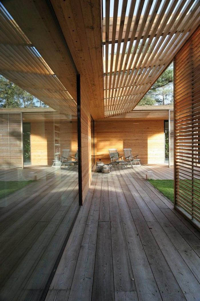 les syst mes brise soleil en 49 photos. Black Bedroom Furniture Sets. Home Design Ideas