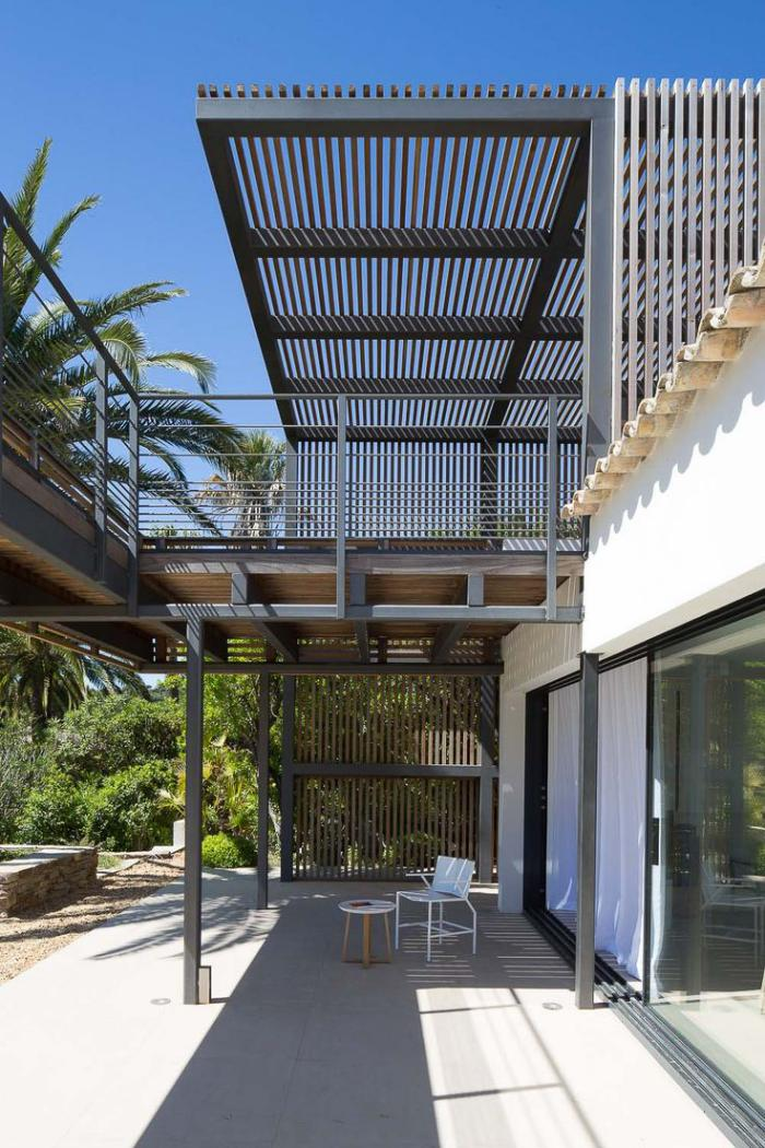 Les syst mes brise soleil en 49 photos for Architecture de jardin