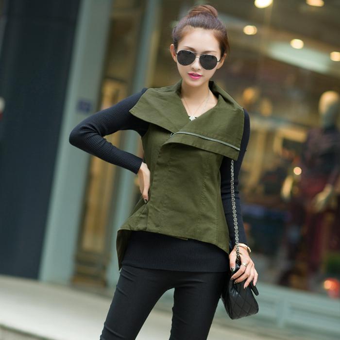 canadienne-veste-kaki-femme-vert-militaire-veste-sac-à-main-cuir
