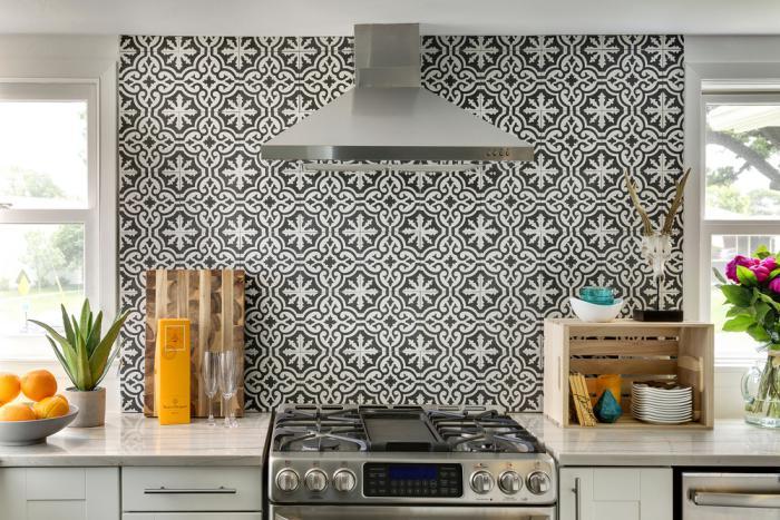 Le motif carreaux de ciment dans l'intérieur - Archzine.fr
