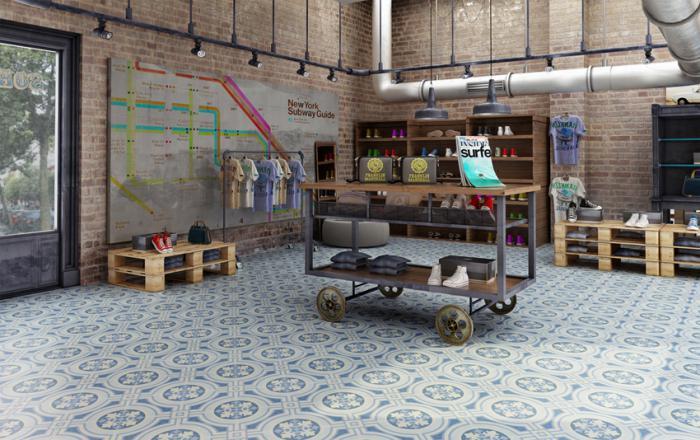 carreaux-de-ciment-studio-loft-meubles-en-palettes