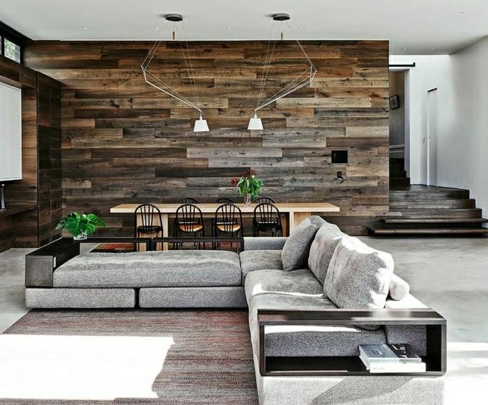 carrelage-imitation-bois-panneau-décoratif-en-bois-canapé-d-angle-gris