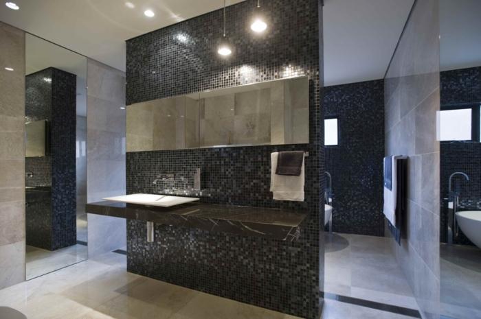 Le carrelage salle de bain quelles sont les meilleures id es - Carrelage original style ...