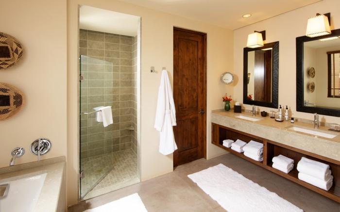 carrelage-sol-salle-de-bain-aménagement-luxueuse-beige