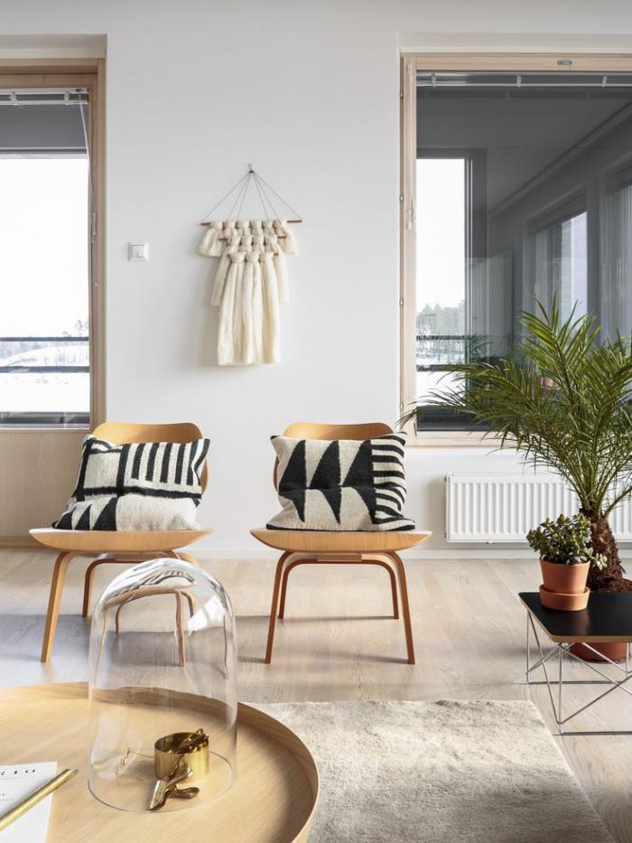 chaise-scandinave-élégance-de-l'intérieur-scandinave-moderne