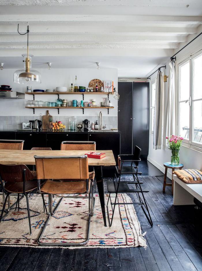 chaise-scandinave-cuisine-vintage-style-scandinave
