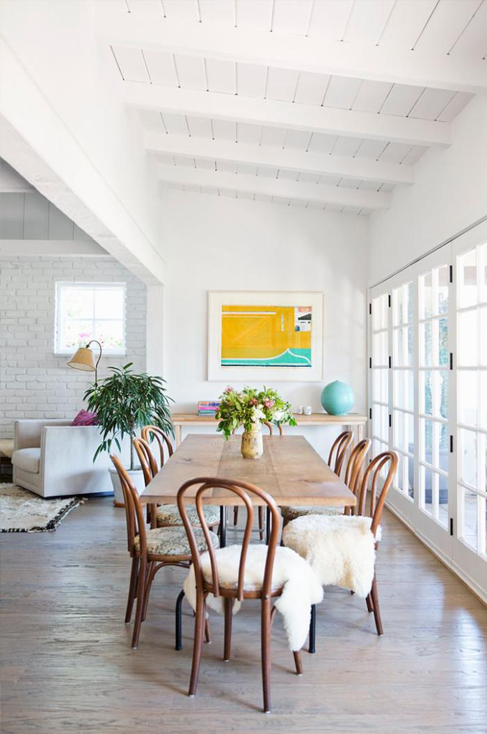 chaise-scandinave-intérieur-esprit-scandinave-salle-de-déjeuner