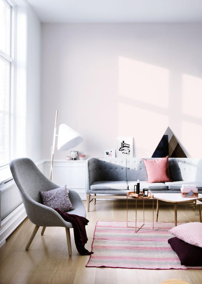 chaise-scandinave-intérieur-simple-style-nordique-chaise-et-sofa-gris