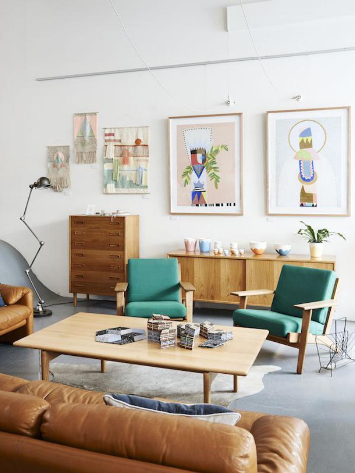 chaise-scandinave-petit-salon-scandinave-meubles-en-bois