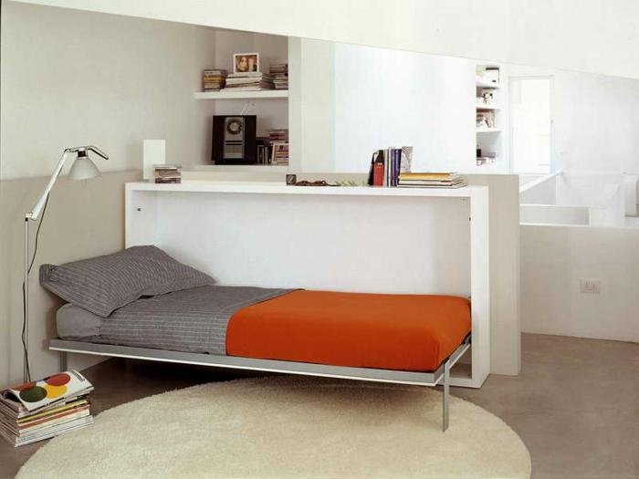 Le lit abattant belles solutions pour sauver d 39 espace - Plante verte chambre a coucher ...