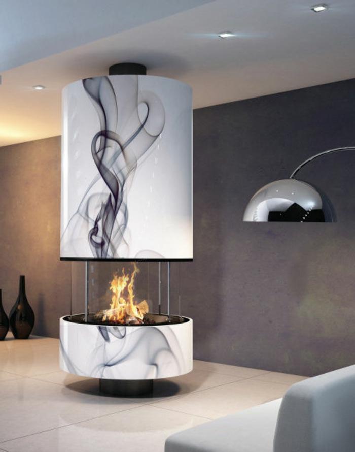 cheminée-suspendue-centrale-utilité-et-beauté-lampe-tactile-cheminé-marbre-simili