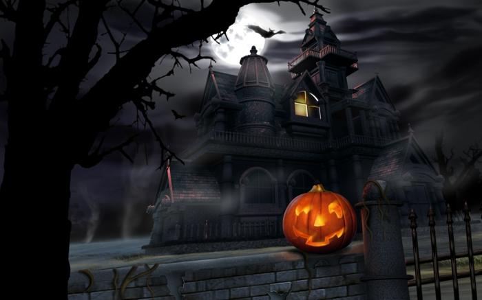citrouilles-halloween-le-meilleur-design-déco-à-la-une-castle-gothique