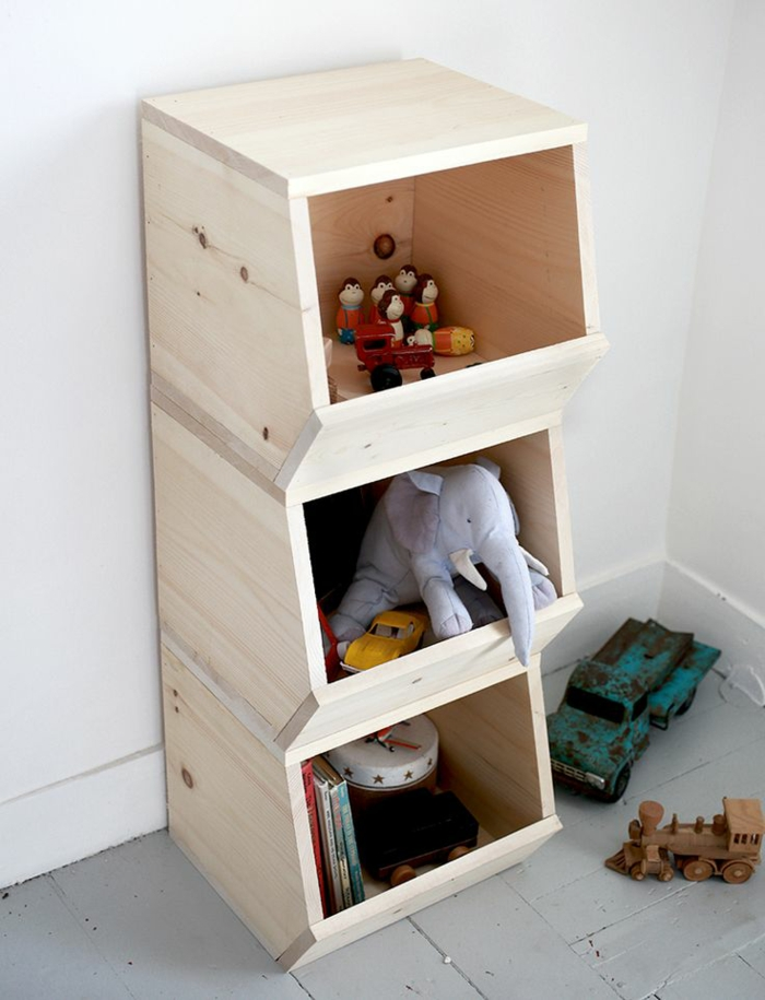 Chambre Scandinave Bebe : coffre-de-rangement-auchan-jouet-chambre-enfant-bibliotheque