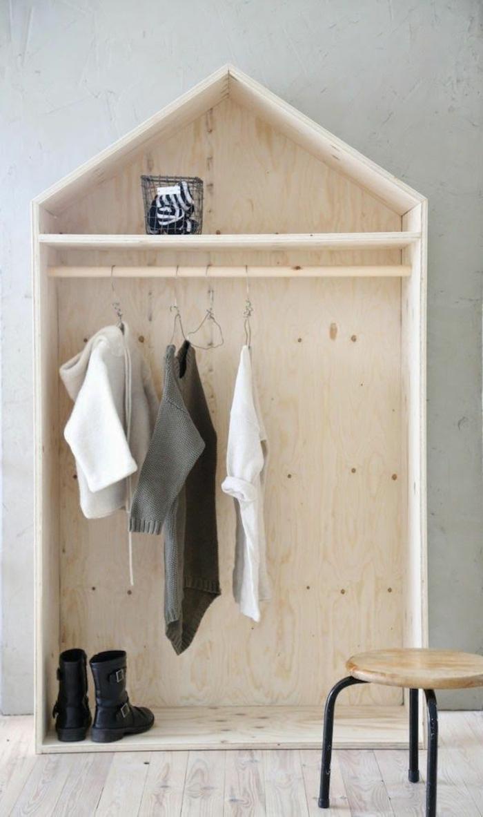 Chambre Bébé Gris Et Blanc : L armoire enfant en photos qui va vous inspirer